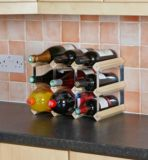 Bottle Store 9-Bottle Wine Rack |