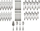 CANVAS Avery Flatware Set Round, 54-pc | Canvas