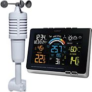 Wireless Weather Forecaster and Wind Gauge