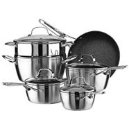 Heritage The Rock Biclad Cookware Set, 10-pc