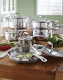 Lagostina 5-ply Copper-Clad Cookware Set, 12-pc | Lagostina