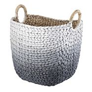 CANVAS Willa Basket, Grey