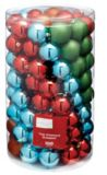 Holiday Collections Brights Ball Ornament Set, Assorted, 100-pk | Holiday Collection