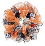Halloween Mesh Wreath, 18-in | Holiday Collection