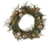 CANVAS Decorative Holiday Wreath, Pom/Apple/Pinecone, 24-in | CANVAS | Canadian Tire