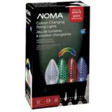 Outdoor C9 Dancing Light Show LED Christmas Lights, Assorted Colours | NOMA