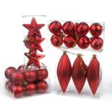 Holiday Collections Red Ornaments, Assorted | Holiday Collection
