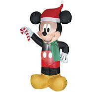Personnage gonflable de Disney, Mickey ou Minnie, 4 pi