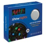 Show Light 120 Outdoor Light Set with Speaker, Multi-Colour | Vendor Brand