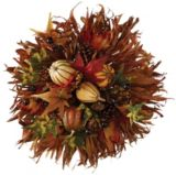 Floral Wall Piece, 18-in |