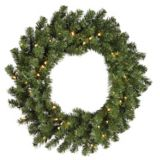NOMA Self Shaping Battery Operated LED Wreath, 24-in | NOMA