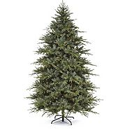 CANVAS Pre-Lit Harrison Noble Fir Tree, 7.5-ft