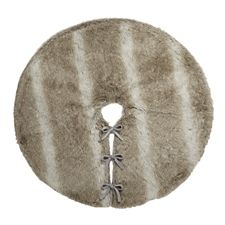 Canadian Tire Mastercard >> CANVAS Faux Fur Tree Skirt, Brown and White | Canadian Tire