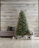 CANVAS Pre-Lit Glacier Blue Spruce Christmas Tree, 7-ft | Canvas