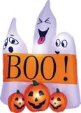 For Living Inflatable Ghost Scene, 5.5-ft | FOR LIVING
