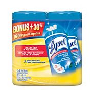 Lysol Disinfecting Wipes 80-pc, 2-pk
