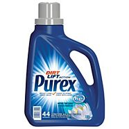 Purex After the Rain Scented High-Efficiency Liquid Laundry Detergent, 44 Loads