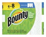 Bounty Paper Towel, 6=8 Rolls | Bounty | Canadian Tire