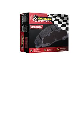 PartSource Pro-Series Brake Pads