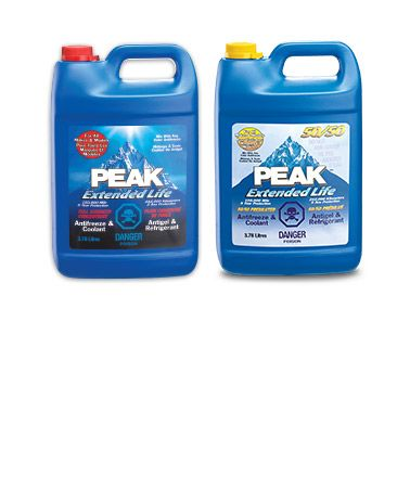 Peak AntiFreeze/Coolant Concentrate or Pre-Mixed