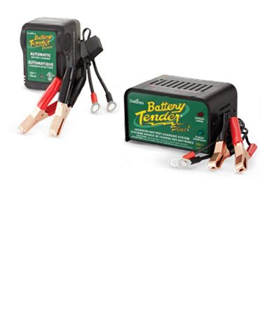 Battery Tender Junior, 0.75A or Battery Tender Plus, 1.25A