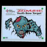Cible de tir à l'arc Hips pour jeunes, zombie