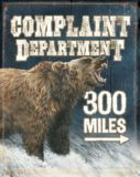 Wild Wings Complaint Department Tin Sign | Wild Wings | Canadian Tire