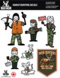 Hunting Family Themed Decal Set