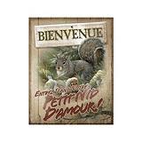 Plaque Nature's Window Bienvenue, écureuil | Nature's Window | Canadian Tire