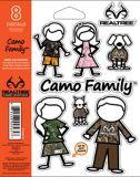 Realtree Family Window Decal Set, Camo, 8-pc | Realtree | Canadian Tire