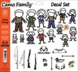 Realtree Family Window Decal Set, Camo, 28-pc | Realtree | Canadian Tire