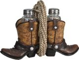 Cowboy Boots Salt and Pepper Shaker