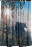 Rideau de douche, ours, 70 x 72 pi