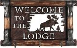 Welcome To The Lodge Coat Rack, 20 x 12-in | Yukon Gear | Canadian Tire