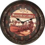 Nostalgic Moosehead Metal Wall Clock, 15-in | Rivers Edge Gifts | Canadian Tire