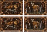 Deer Dining Place Mats, 4-pc