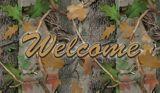 Welcome Camo Door Mat, 18 x 30-in