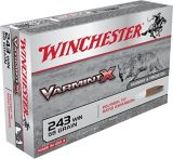 Munitions Winchester Varmint X .243, 58 g | Winchester | Canadian Tire