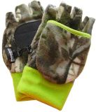 Thinsulate Fleece Flip Mitts, Camo, Youth