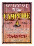 Plaque en métal Rivers Edge Welcome to our Campfire | RIVERS EDGE | Canadian Tire