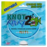 Knot 2 Kinky Nickel Titanium Leader Wire, 15-ft | Knot 2 Kinky
