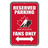 Team Canada PVC Parking Sign | Hockey Canada | Canadian Tire