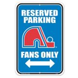 Quebec Nordiques Reserved Parking Sign | NHL | Canadian Tire