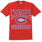 Montréal Canadiens Triline T-Shirt, Youth, Red   NHL   Canadian Tire