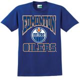 Edmonton Oilers Triline T-Shirt, Youth, Royal Blue | NHL | Canadian Tire