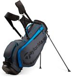 TaylorMade 4.0 Golf Stand Bag, Grey/Black/Blue | TaylorMade | Canadian Tire
