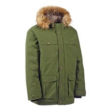 4283bbfd3 Woods Pierce Men's Insulated Parka Jacket, Green