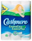 Papier hygiénique Cashmere EnviroCare, 12 rouleaux | Cashmere | Canadian Tire
