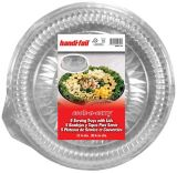 Handi-Foil Round Tray with Lid, 5-pk | Handi-Foil | Canadian Tire