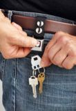 Porte-clés boucle de ceinture olympique canadienne